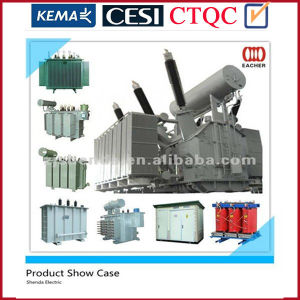 Power Transformer for 66kv Level Three-Phase Two-Winding Oltc