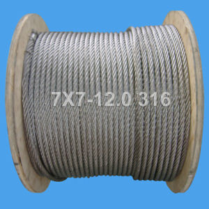 7X7-12.0 Stainless Steel Wire Rope (DSCF0508) pictures & photos