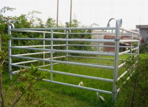 Security Hot Dipped Galvanized Livestock Panel