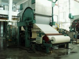 787mm Waste Carton Recycling Machine, Vertical Type Toilet Paper Machine pictures & photos