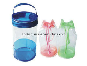 PVC Drawstring Traveling Bag (HBO20067)