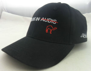 Cheap High Quality Polyester 6 Panel Custom Fitted Hats pictures & photos