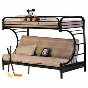 Twin Over Double Bunk Sofa Bed
