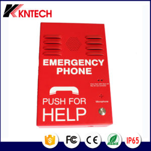IP Network Telephone Kntech Knzd-38 Public Telephone Rugged Telephone pictures & photos