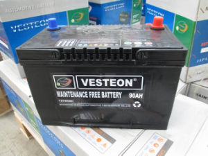 Good Starting Performance DIN Standard 12V 60ah Auto Battery pictures & photos