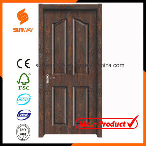 Hot Sale High Quality Interior Solid Wooden Door Sw-880 pictures & photos