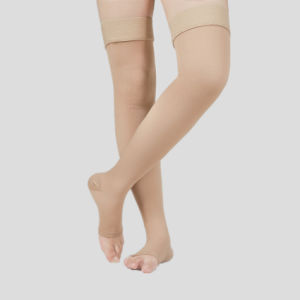 4d85c586c1 Private Label Head Grip Medical Thigh High Compression Socks for Varicose  Veins