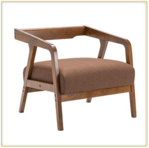 Modern Wooden Legs Furniture Living Room Brown Sofa