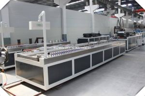 Conical Twin-Screw Extruder for Pipe Sheet Profile Extrusion Line pictures & photos
