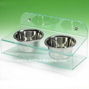 Wholesale Plastic Acrylic Dog Feeding Bowl pictures & photos