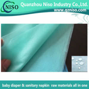Eco-Friendly 100% PP Hydrophobic Nonwoven for Diaper with ISO (AG-079) pictures & photos