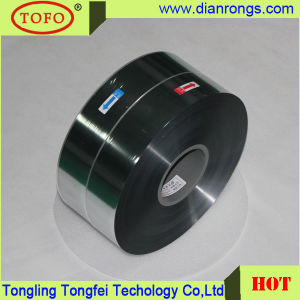 Sigle-Sided Marge Metallized Polypropylene Film for Capacitor Use pictures & photos