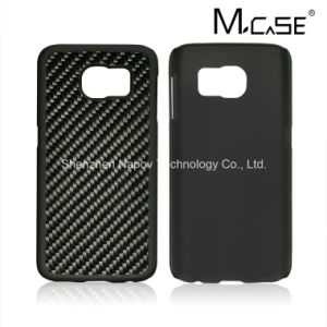 High Luxury 100% Real Carbon Fiber Rubberized PC Case Cover for Samsung Galaxy S7 pictures & photos
