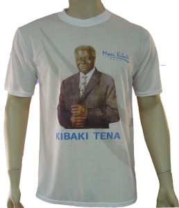 Good Quality Cheap Price Printed T-Shirt for Election pictures & photos