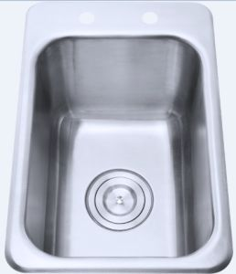 China Topmount Or Inset Stainless Steel Ktichen Sink Utility Sink