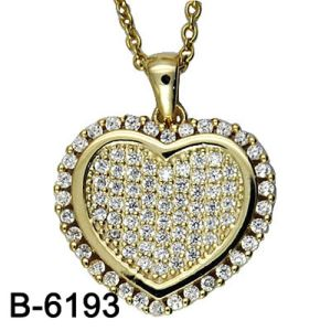 New Design Fashion Jewelry 925 Sterling Silver Necklace Pendant pictures & photos