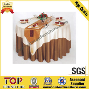 Polyester Hotel Banquet Hall Table Cloth (TB-1106) pictures & photos