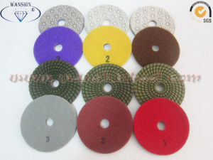3-Step Diamond Polishing Pads for Granite pictures & photos