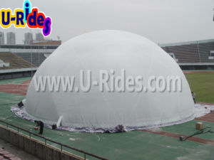 30m wide Lawn Inflatable giant white Dome Tent for event pictures & photos