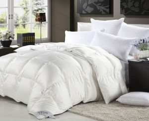 Super Soft White Goose Down Baby Quilt