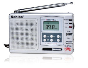 Kchibo Kk-MP9702 FM/MW/Sw1-8 10 Band Receiver with MP3 Digital Radio
