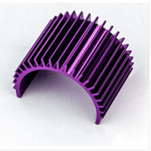 Semi Circular Colored Aluminum Extrusion Heatsink