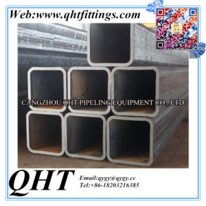 Black Hot Rolled Rectangular and Square Steel Pipe