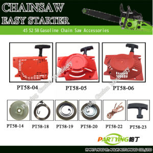 Komatsu Gasoline Chainsaw Part Spare Parts 42cc 52cc 58cc 4500 5200 5800 Starter Assy Spring Easy Starteres
