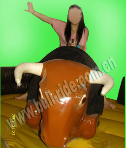 Capacity 200kg Inflatable Mechanical Big Body Bull pictures & photos