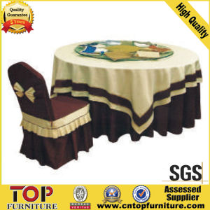 Hotel Jacquard Banquet Chair Cover pictures & photos