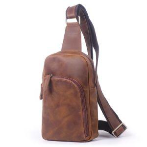 712c8f305905 Large Capacity Men′s Satchel Casual Cross-Body Bag Vintage Cow Leather  Single Shoulder