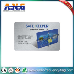Printed Wallet Blocking RFID Smart Card Protectors High Security pictures & photos