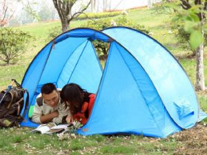 Four Season Polyester Camping Tent for 3~4 Person (TS-SC006)