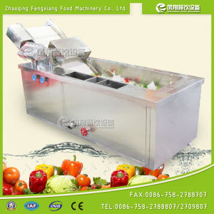 High Pressure Air Bubble Vegtable and Fruit Washing Rinsing Machine