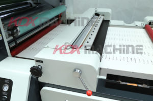 High Speed Thermal Film Laminator with Hot Knife (KMY-1450D) pictures & photos
