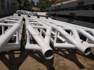 Hot Rolled Galvanized H-Section Steel Column