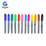 Environmentally Ink Plastic Small Waterproof Mini Permanent Marker