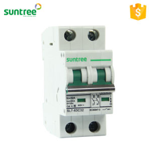 China Suntree Dc Circuit Breaker Dc Mcb 2pole 4pole 16a 32a China Dc Mcb Mini Circuit Breaker