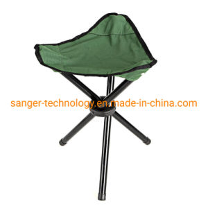 Tripod Foldable Camping Stool Compact Ultralight Fishing Hiking Chair Seat