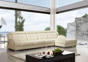 Modern Living Room Sofa with L Shape Sectional for Chinese Furniture
