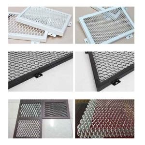 China Plastic Coated Aluminium Mesh Price Expanded Metal for