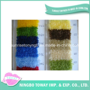 Custom Thick Chenille Acrylic Wool Carpet Yarn for Rug pictures & photos