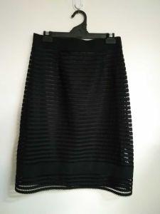 Trj001, Lady/Women's Skirt, Black, Elegant, Demure, Fashion, Black