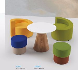 Wondrous Modern White Round Wood Small Coffee Table With Ottoman Caraccident5 Cool Chair Designs And Ideas Caraccident5Info