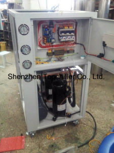 Milk Cooling Process Industrial Water Cooled Glycol Chiller Factory Suppliers
