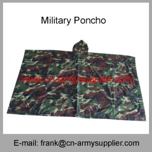 Camouflage Poncho-Army Poncho-Police Poncho-Military Raincoat-Military Poncho pictures & photos