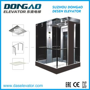 Glass with Stainless Steel Frame Sightseeing Elevator pictures & photos