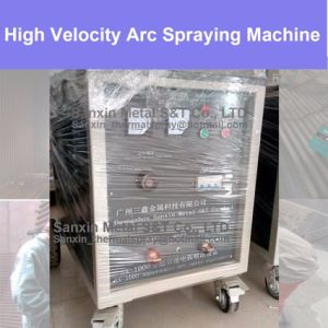 [ in Stock ] High Velocity Arc Spraying Coating Machine Zinc / Aluminum Hard Metal Alloy Plating Equipment for Batch Spraying High Efficiency Work