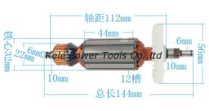 Power Tool Spare Parts (Armature for angle grinder Makita 9523 use) pictures & photos