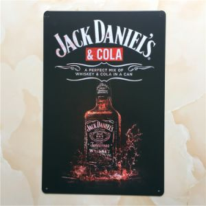 Jack Daniel′s Design 20*30 Cm Sign & Metal Plate & Tinplate pictures & photos